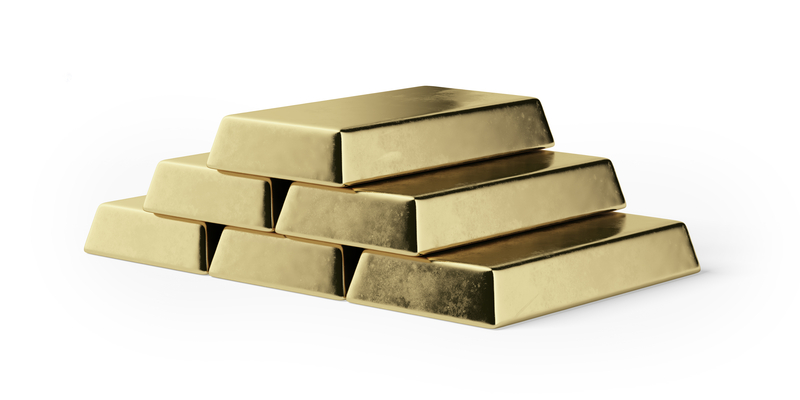 Gold Bars Finance Economy Investment Robert Pringle The Money Trap